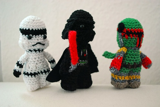 Crocheted Star Wars Characters By Fickle Sense Project Crochet