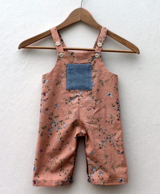 Pink baby dungarees by Ingrid | Project | Sewing / Pants & Shorts ...