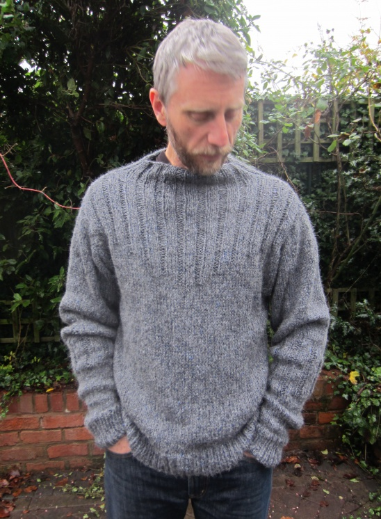 Bonts Funnel Neck Jumper By Viola Gee Project Knitting
