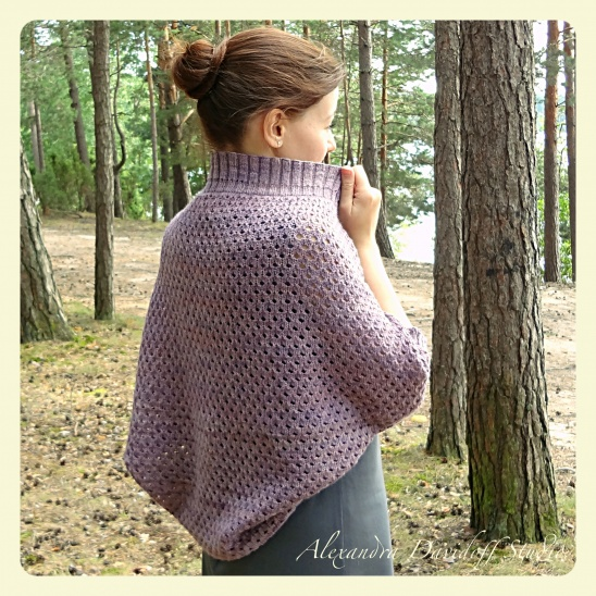 Amethyst Shrug Knitting Pattern Supply Patterns Kollabora