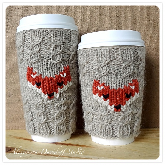 FOX cozy Venti & Grande knitting pattern | Supply | Patterns | Kollabora