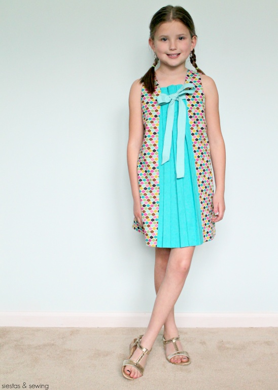 Birthday Party Dress by Cindy M siestas sewing Project