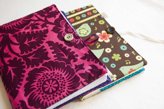 Fabric Book Cover Kit : Fabric book cover by marta duarte project sewing