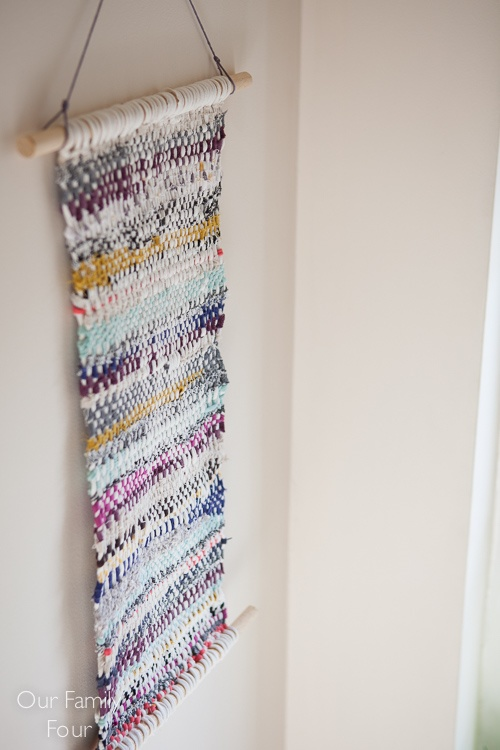 Woven Fabric Scrap Wall Art By Erin A Keith Project