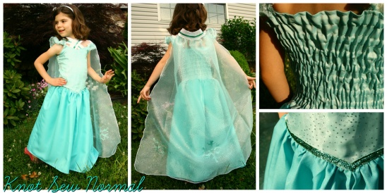 FROZEN Elsa Dress by Jonie (Knot Sew Normal) | Project | Sewing ...