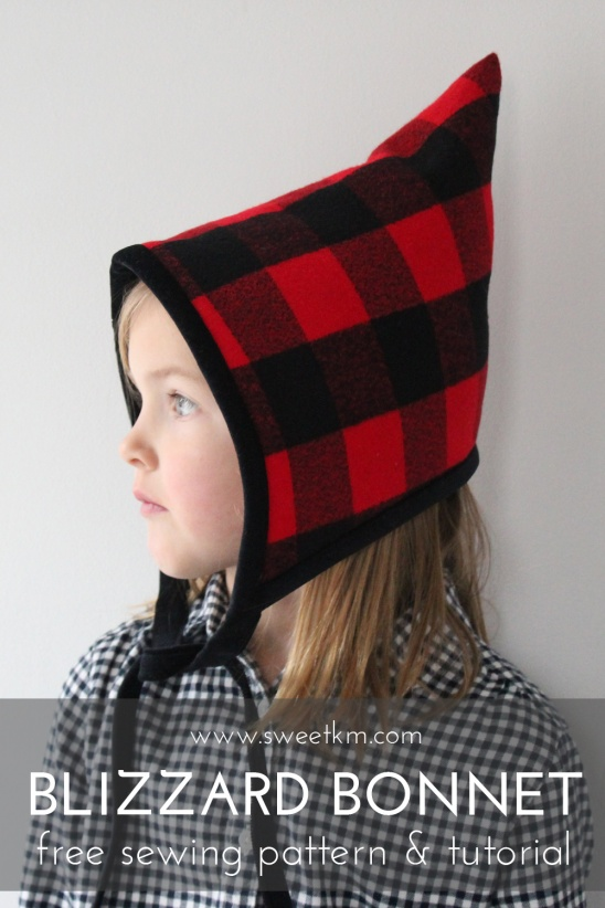 Blizzard Bonnet Free Hat Sewing Pattern In 5 Sizes Supply