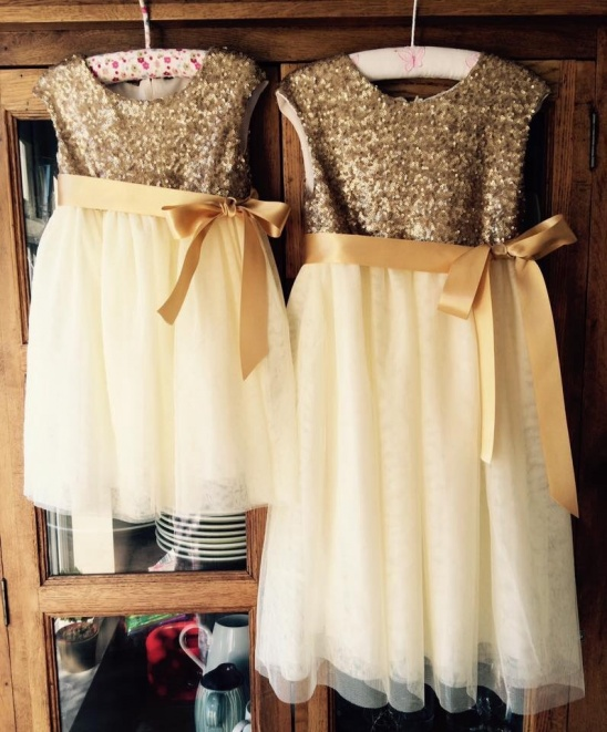 0e54ab6e Tulle & Sequin Flower Girl Dresses by sewn by heart | Project ...
