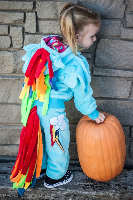 rainbow dash costume by sabra project sewing kids