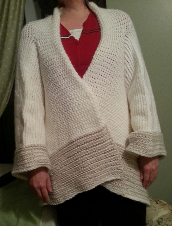 Shawl Sweater By Karen Crain Project Knitting Cardigans