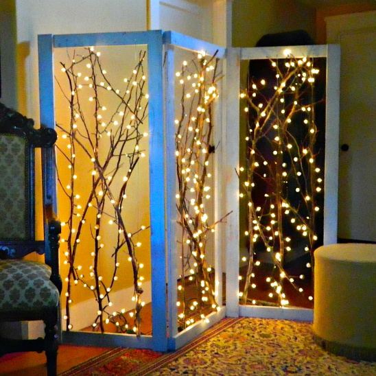 Twinkling Branches Room Divider by Mark Montano Project Home