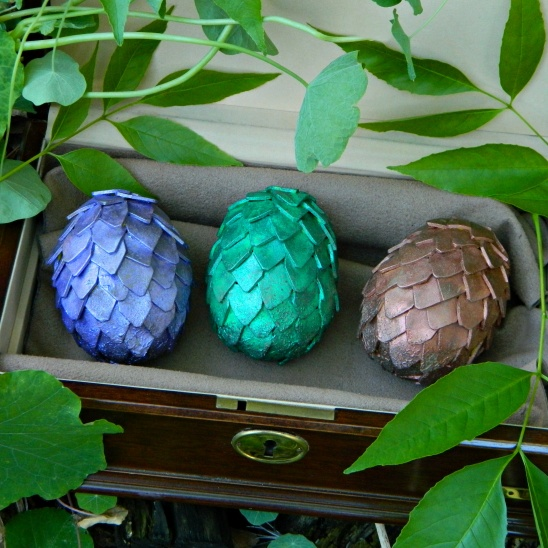 Game Of Thrones Dragon Eggs For Easter By Mark Montano