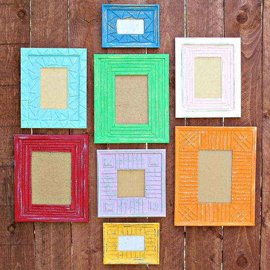 3 years ago - Dollar Store Picture Frames