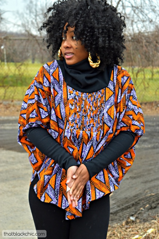 African Butterfly Lace Outfit