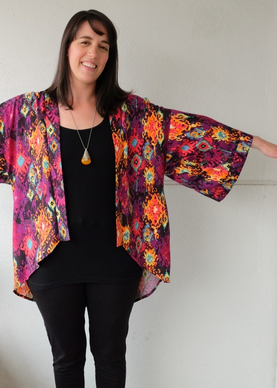 Simplicity 1318 Kimono Jacket by Meg | Project | Sewing / Women\'s ...