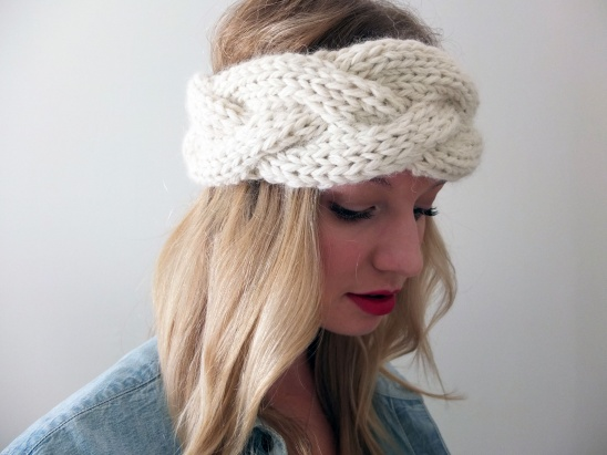 Simcoe Braided Headband By Tracing Threads Project Knitting