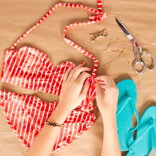 How to Make Swimwear via Kollabora