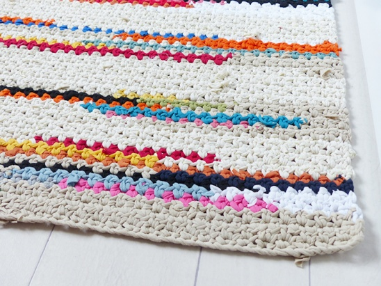 Crochet Xxl Patterns : XXL Crochet rug by Ludivineem Project Crochet Home Decor / Rugs ...
