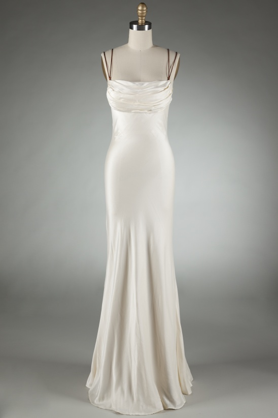Katie\'s Bias-cut Silk Charmeuse Wedding Dress (2006) by Brooks Ann ...
