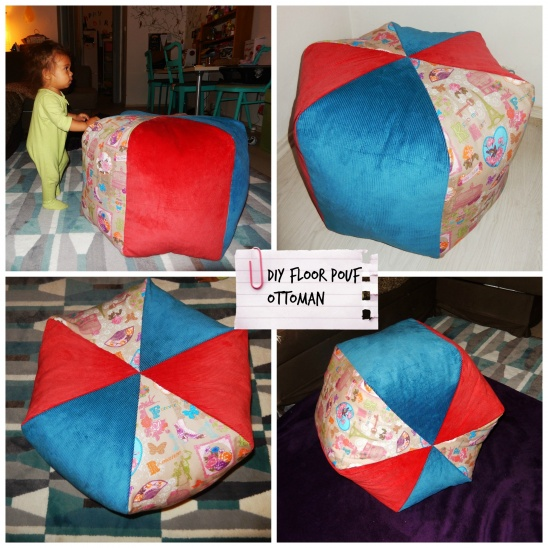 Stupendous Diy Floor Pouf Free Pattern By Pennie Project Sewing Machost Co Dining Chair Design Ideas Machostcouk