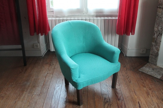 experimental reupholster tub chair by julie kansara project