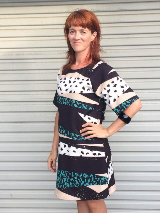 Japanese Pattern Raglan Sleeve Dress By Sewing With Kate Project