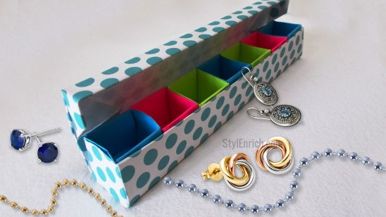 DIY Origami Jewelry Box