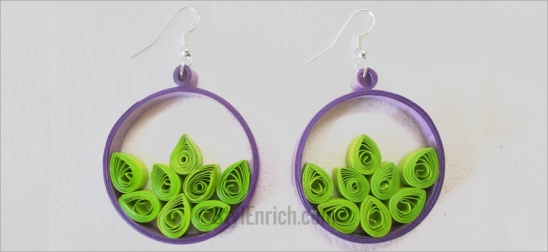 0a6077be57ef8a Add the jump rings and hooks and your awesome handmade jewelry quilling  earrings are absolutely ready!