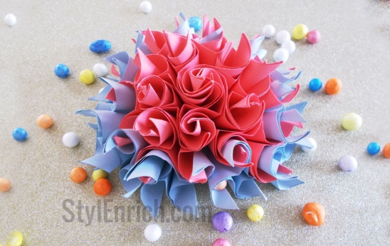 Diy paper craftseasy origami paper flowers by ananvita bhattacharya easy origami paper flower mightylinksfo