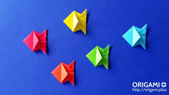 Head fish - Easy Origami instructions For Kids   308x548