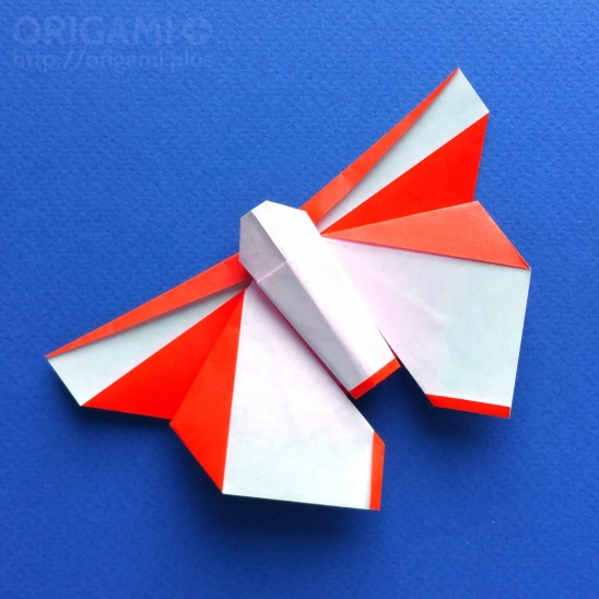 Beautiful Origami Butterfly By Plus