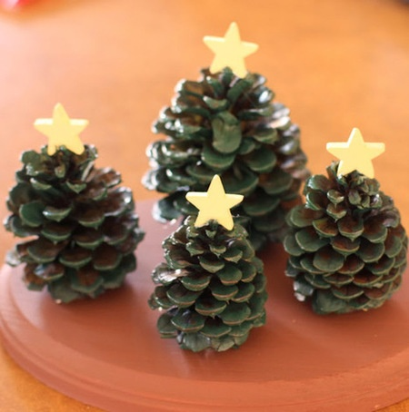 Diy Pine Cone Christmas Trees By Harvey Robson Project