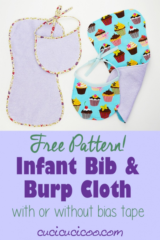 Newborn Bibs And Burpcloths Free Pattern By Cucicucicoo Project