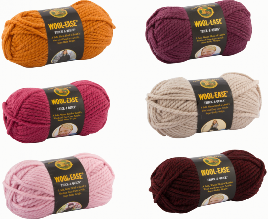 our favorite supplies wool ease thick quick yarn by kollabora