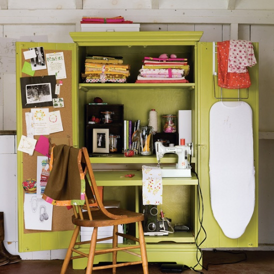 In Your Space: Heather Ross Revamps Your Sewing Workspace ...