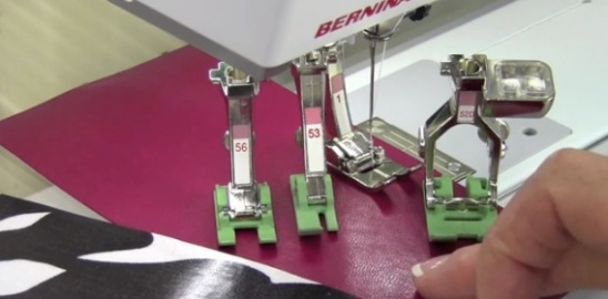 Selecting A Foot For Sewing Vinyl By Simon Herzog