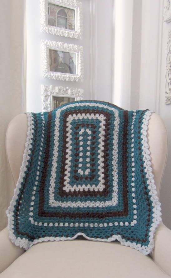 Rectangular Sampler Blanket By Marie In Nyc Project