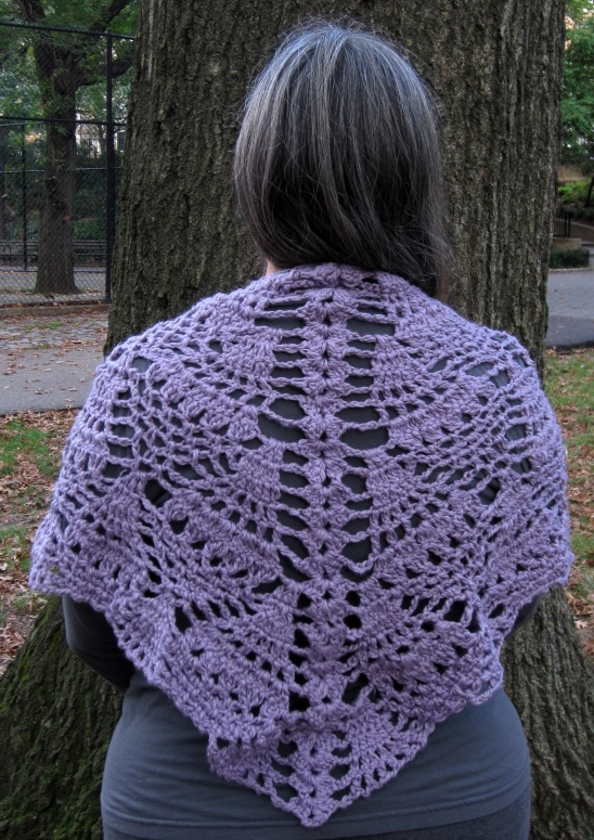 Crochet Pineapples For Everyone Shawl By Marie In Nyc Project