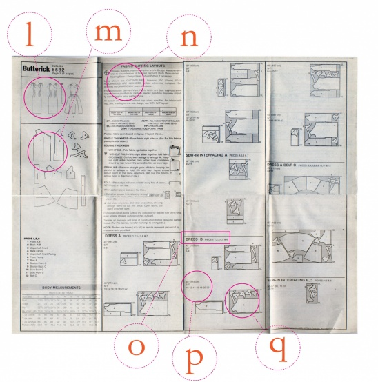 Reading a Pattern by Nicole | Technique | Sewing / Laying/Cutting ...