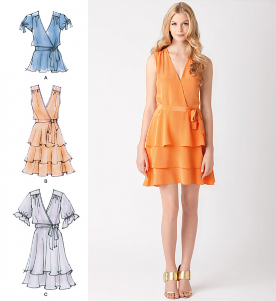 Cynthia Rowley Sewing Patterns: Cynthia Rowley Collection Dress By Simplicity Patterns