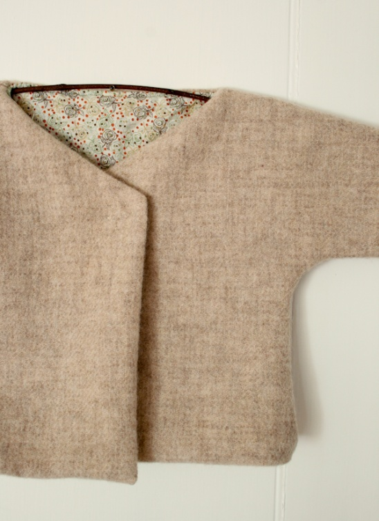 dc3ed6e4f The Purl Bee - Felted Wool Baby Jacket