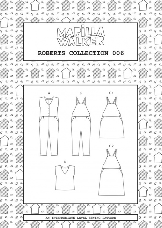 Roberts Collection Sewing Dress Making Patterns Supply