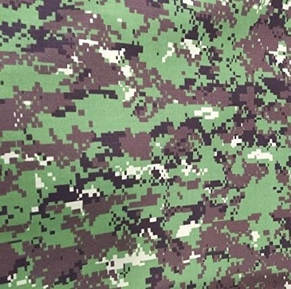 33f9a8f60147a Marpat Woodland Camouflage with Spec4CE Forest Color Nylon Cotton Ripstop  Fabric 65