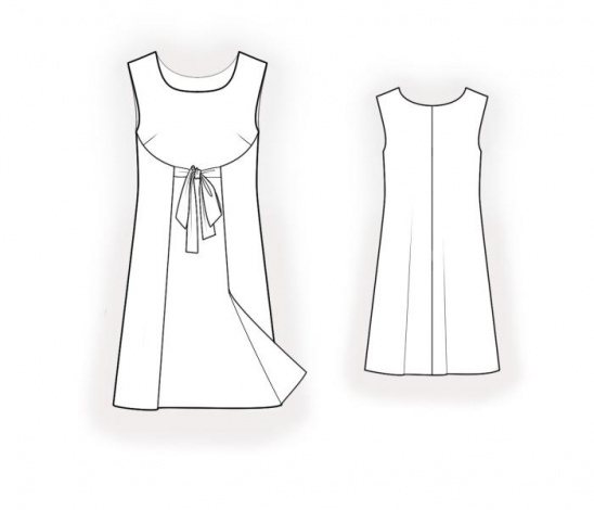 Double Sided Dress Sewing Pattern 4545 Made To Measure Sewing