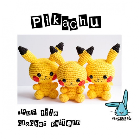 11 x Crochet Pattern Pokemon GO [Free | Pokemon crochet pattern ... | 548x548
