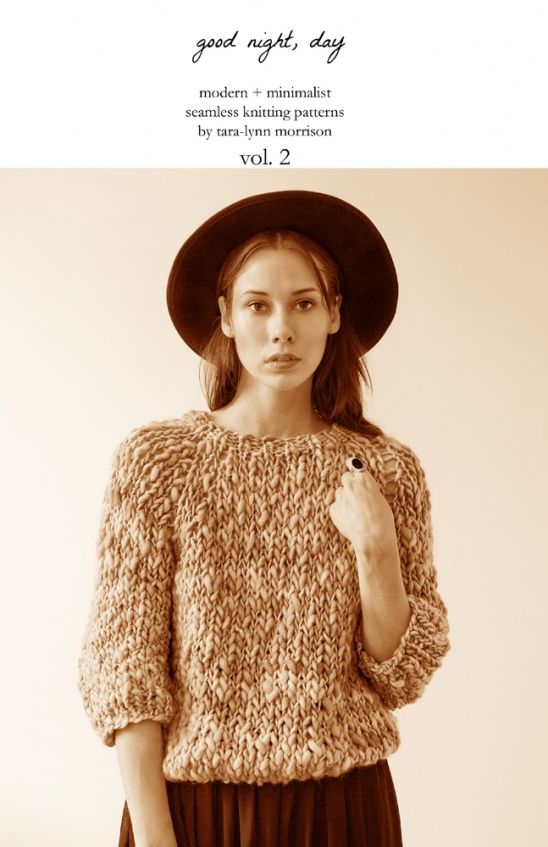 Good Night Day Modern Minimalist Knitting Patterns Volume 2