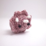 Amigurumi triceratops by mohu Project Crochet ...