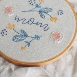 Mother's Day Embroidery Pattern by Sara // Radiant Home | Project