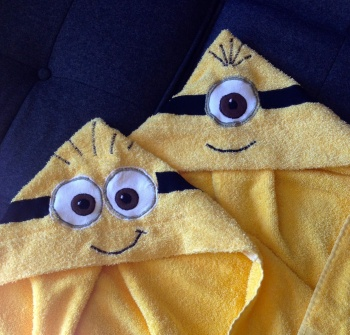 Minion Hooded Towel By Michelle Bingham Project Sewing