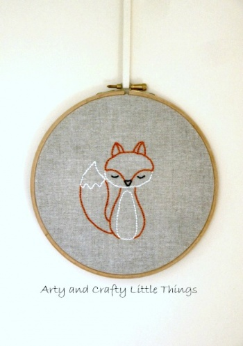 Mr Fox By Arty And Crafty Little Things Project Embroidery