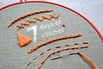 7 days of stitches by Anne Mende / Pumora | Project | Embroidery / Decorative